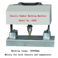 Portable pneumatic frame vin number chassis number engraving machine Needle punching machine