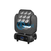 MADPANEL 910F 9pcs 10w CREE XLamp XML 4-in-1 10W LEDs Moving Head Matrix Wash Light