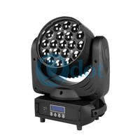 QW-1915Z LEDZOOM 1915F 19pcs 15W 4-in-1 LEDs Moving Head Wash Zoom