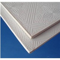 PVC Laminated Gypsum Tile with Alumimum Foil Back