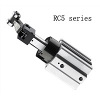RC5 compact air cylinder pneumatic components actuator brake stopper cylinder