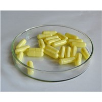 Halal Certified Empty Vegetable Capsules Pullulan Bulk Light Yellow Size 2 4