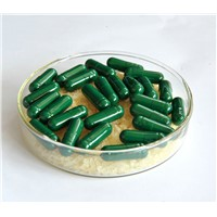 Halal Certified Empty Vegetable Capsules Dark Green Size 00 0