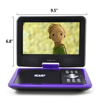 9inch Portable DVD Player TV USB Games