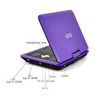 9inch Portable DVD Player with TV Tuner