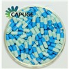 High Quality Empty Gel Caps Gelatin Capsuels Blue Lt Blue Bulk