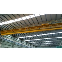 High Efficiency Workshop Used LH Electric Double Girder Girder Bridge Crane 20 t /5 t