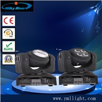 Mini Flip Double Face Two Sides 4in1 RGBW 4*10W Wash + 10W Beam LED Moving Head