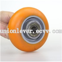 PU aluminium core caster wheel for USA market