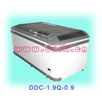 Curved Lid Freezer