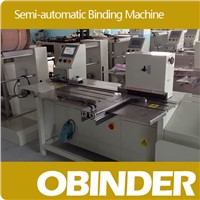Obinder Semi-Automatic Book Wire Binding Machine OBWC420