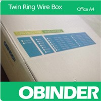 Obinder Twin Ring Wire Office Box Package