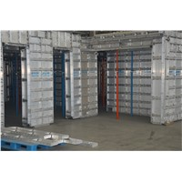 Aluminum Formwork, Rapid Paced Construction System For Forming Cast In Place Concrete Structures