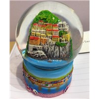 water polo snow globe for gift tourist souvenirs
