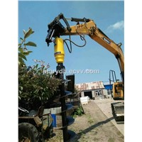 Hydraulic Excavator Auger for Tree Planting, Telecom, Electric, Garden, Highroad, Railway