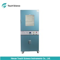 Vertical Constant Temperature Electric Motor Vacuum Drying Chamber