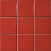 Glazed porcelain tile  4x4""
