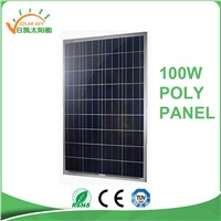 High Quality Solar Moudle 100w 18v Poly Solar Panel