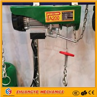PA Wire Rope Electric Hoist/ Mini Electric Hoist/ Electric Hoist