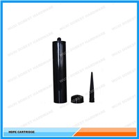 Silicone Sealant 300ML Empty Black Color HDPE Cartridge