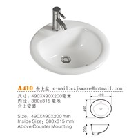 China Oval Counter Top Basins, Adove Counter Basins, Ceramic Wash Basins Suppliers & Manufacturers