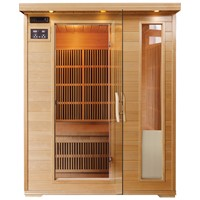 3 Person Far Infrared Carbon Heater Sauna Room