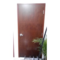 WH UL Solid Wood Fire Door