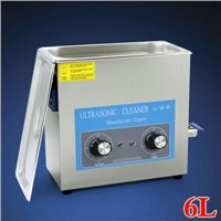 6L 180W Desktop Ultrasonic Cleaner for Medical & Dental Instruments Medical Parts