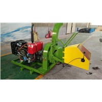 Mobile Diesel Engine Wood Chipper for Sale