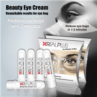5 Sachets Real Plus Instantly Alternative Boxes A++ Anti-Wrinkle 1-2 Minutes under Eye Bag Removal Cream