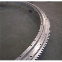 Ball & Roller Combined Slewing Bearing with Gear Teeth, Special Slewing Bearing Precision Slewing Bearing