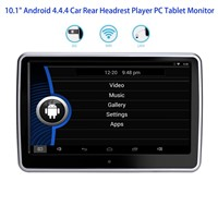 "10.1"" Android 4.4.4 Car Rear Headrest Player PC Tablet Monitor"