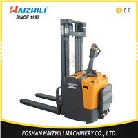 1.5 Ton 2000mm Battery Operated Full Electric Stacker for Warehouse Use