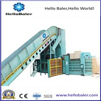 High Capacity Hydraulic Press Machine Horizontal Automatic Balers from Hellobaler