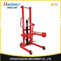 Hydraulic Hand Stacker 350KG 1460MM Lifting Height Oil Drum Lifter ( Tilting Type)