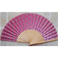 Spanish Wood Fan for Promotion Gifts