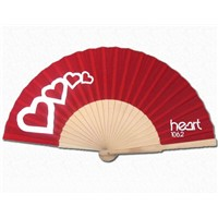 Custom Made Wood Hand Fan as Promotional Gift