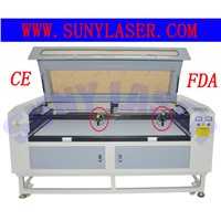Multi Heads CO2 Fabric Laser Cutting Machine for Garment