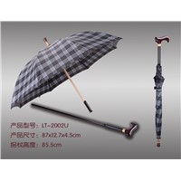 Aluminum Umbrella Walking Stick