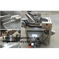 Gas Heating Type Snacks Frying Machine