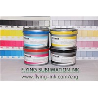 how to Print Litho Sublimation Ink into Two-Side Offset Paper?