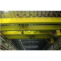 High Efficeincy QD Type Double Beam Bridge Crane 16/3.2 t
