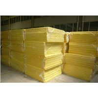 China Factory Cheap Price Yellow Glass Wool Board Insulation