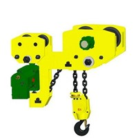 Low Headroom Hoist Large Frame Air Chain Hoist