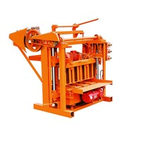 QTJ4-40 Manual Hollow Paving Block Machine Price
