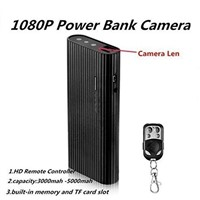 Sp-y Camera HD 1080P Motion Activated Night Vision Power Bank Hidden Camera