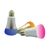 WiFi Smart LED Light Bulb, Smartphone Controlled Dimmable Multicolored Color Changing