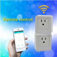 WiFi Smart Socket Outlet US Plug, Turn on / off Electronics from Anywhere