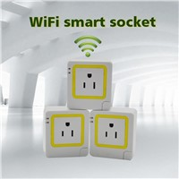WiFi Control Smart Plug Socket US Standard Electrical Plug Power Socket Hot Selling