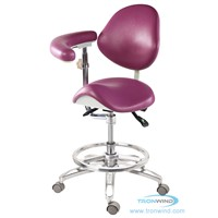 Saddle Chair with Armrest TS09, Ergonomic Chair, Saddle Stool, Ophthalmic Chair
